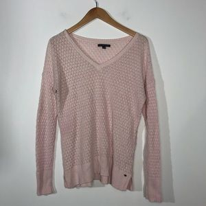 American Eagle Outfitters Small Pink Vneck Sweater
